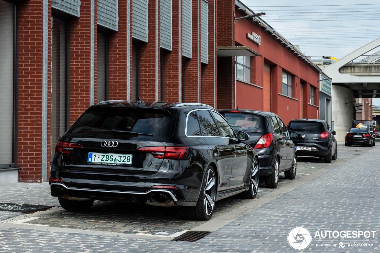 Audi RS4 Avant B9 - 12 August 2019 - Autogespot