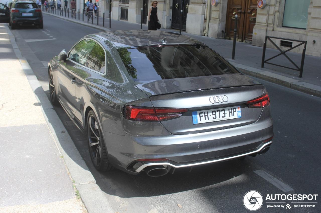 Audi RS5 B9 - 12 August 2019 - Autogespot