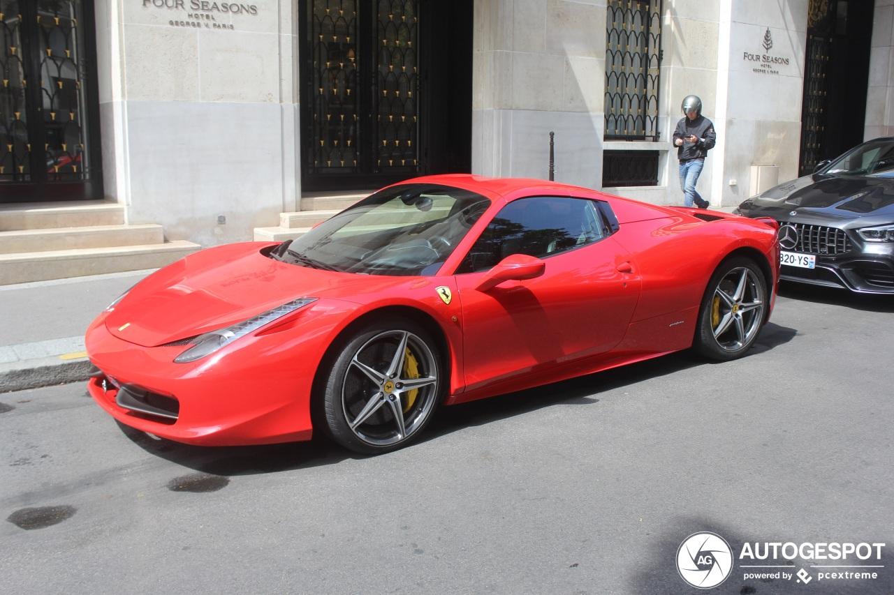 Ferrari 458 Spider - 12 August 2019 - Autogespot