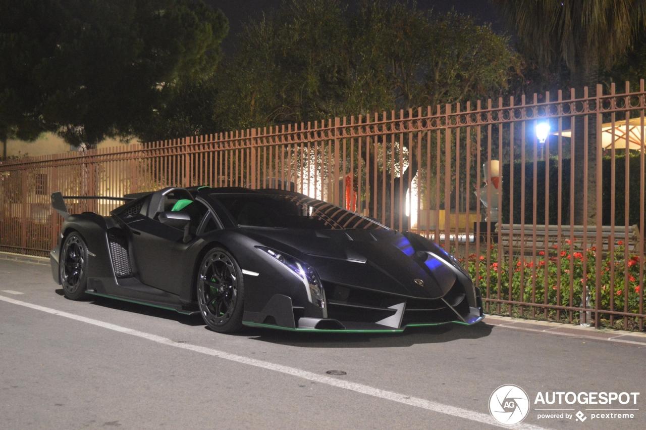 Welbekende Lamborghini Veneno Roadster gaat naar de veiling