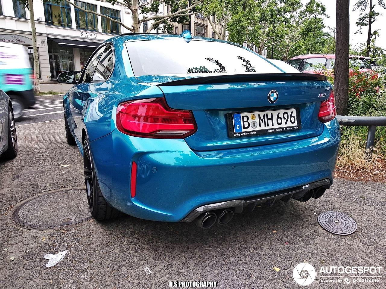 BMW M2 Coupé F87 2018 - 13 August 2019 - Autogespot
