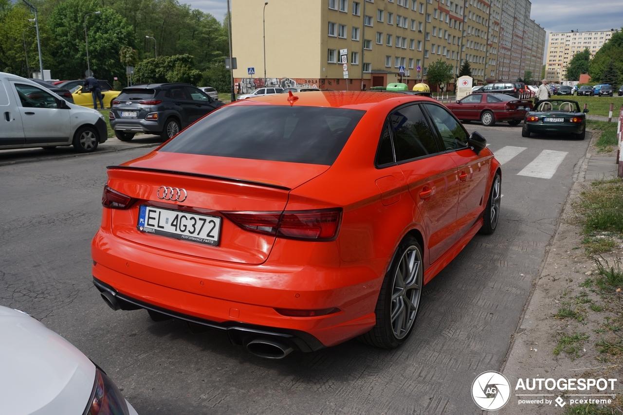 Audi RS3 Sedan 8V - 14 August 2019 - Autogespot