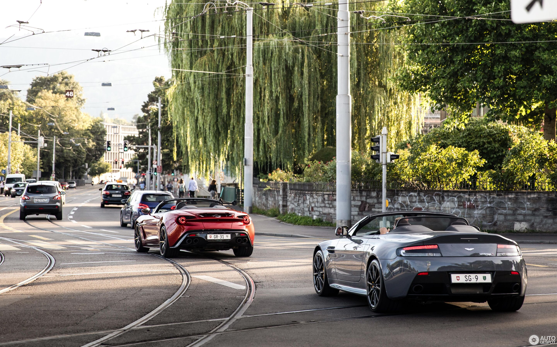 Aston Martin Vanquish Volante Zagato 15 August 2019 Autogespot