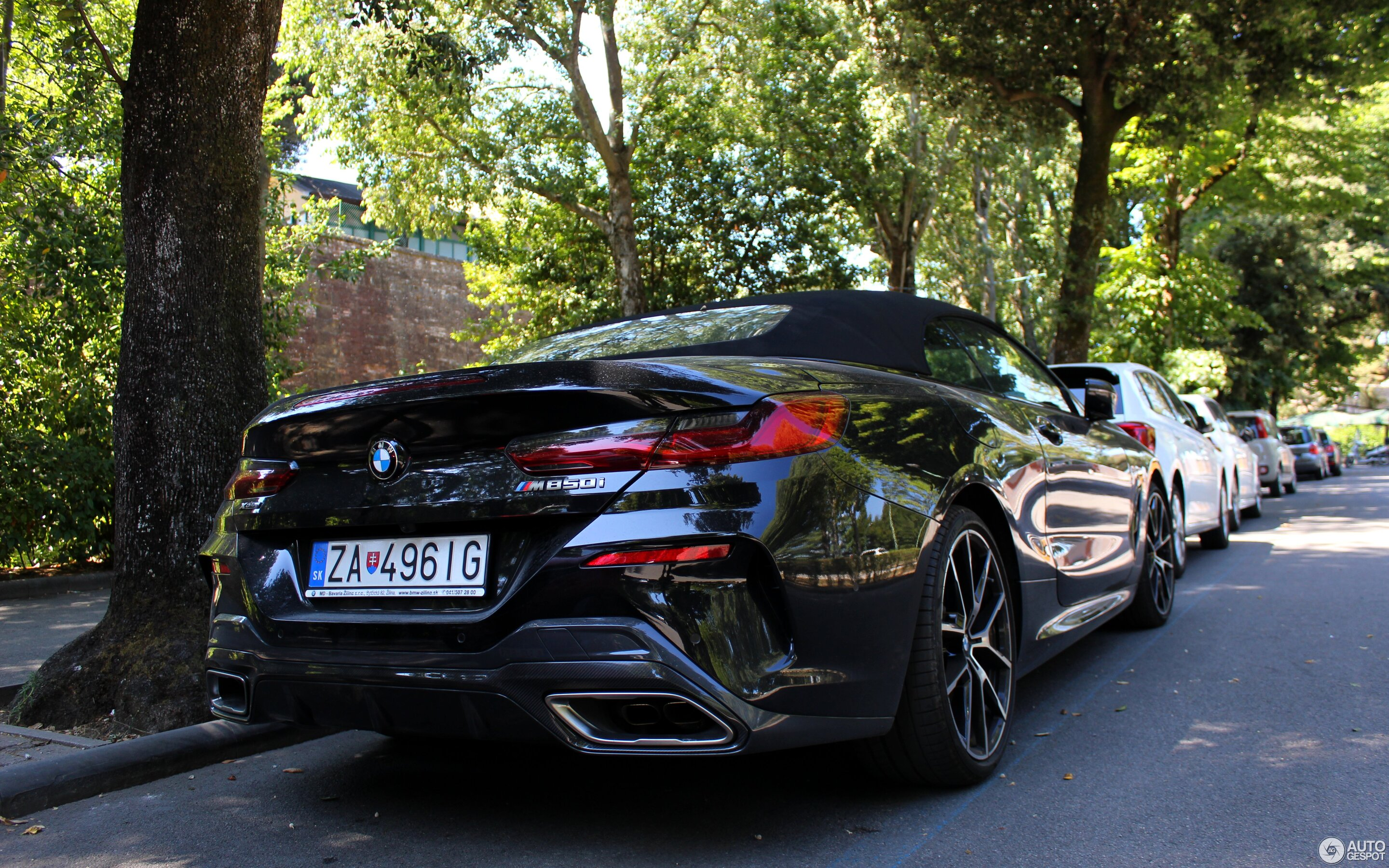 BMW M850i xDrive Cabriolet 2019