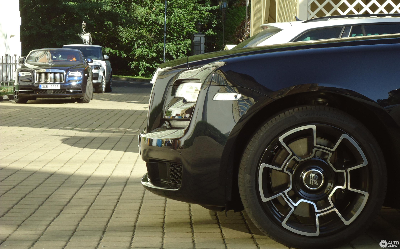 Rolls-Royce Ghost Series II Black Badge