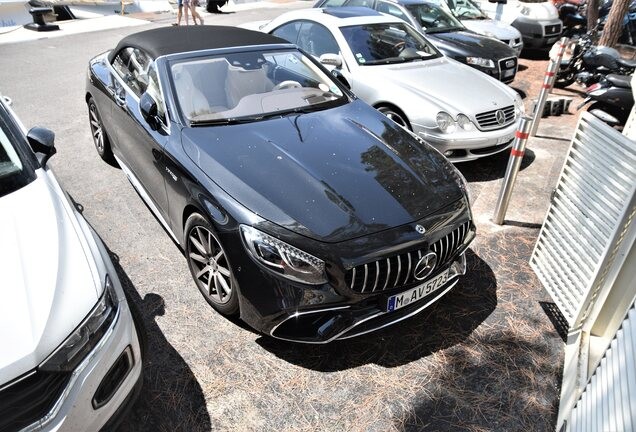 Mercedes-AMG S 63 Convertible A217 2018