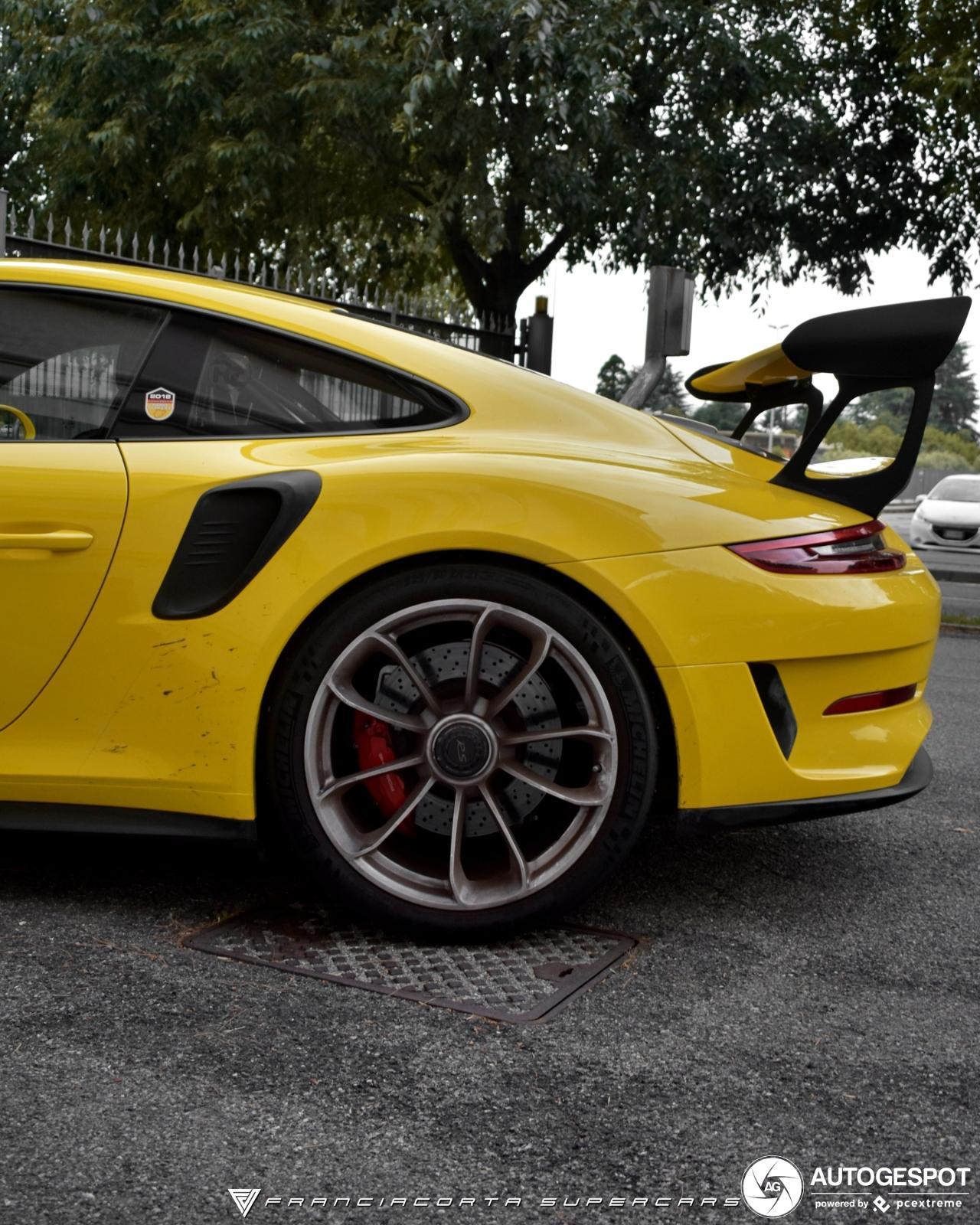 2019 Porsche 911 Gt3 Rs: Porsche 991 GT3 RS MkII