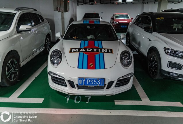 Porsche 991 Carrera S Martini Racing Edition