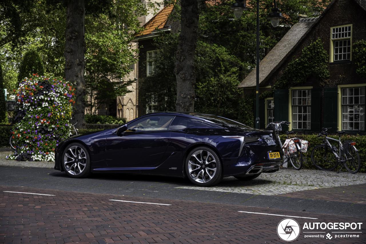 Lexus LC 500h - 1 September 2019 - Autogespot