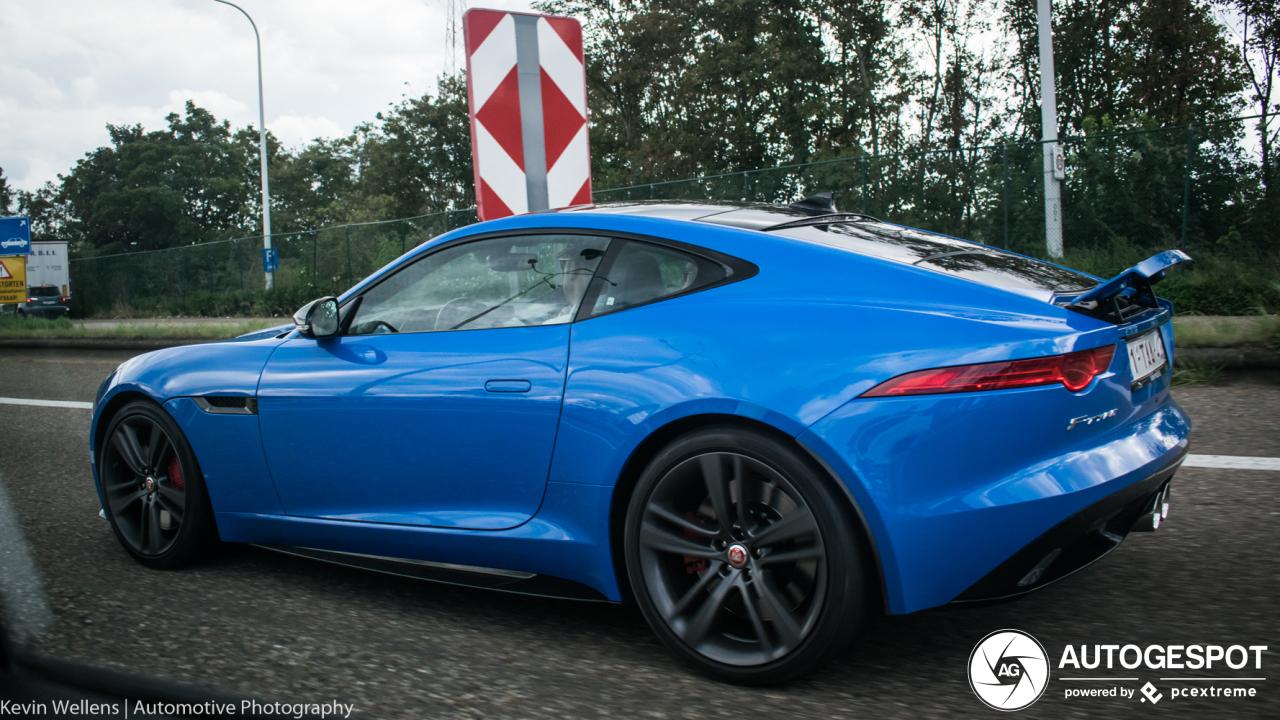 Jaguar F-TYPE S Coupé British Design Edition - 2 september 2019 - Autogespot