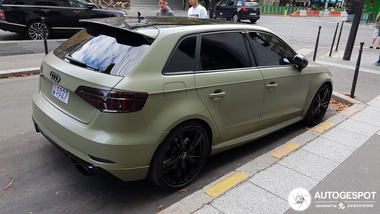 Audi Rs3 Sportback 8v 2018 8 September 2019 Autogespot