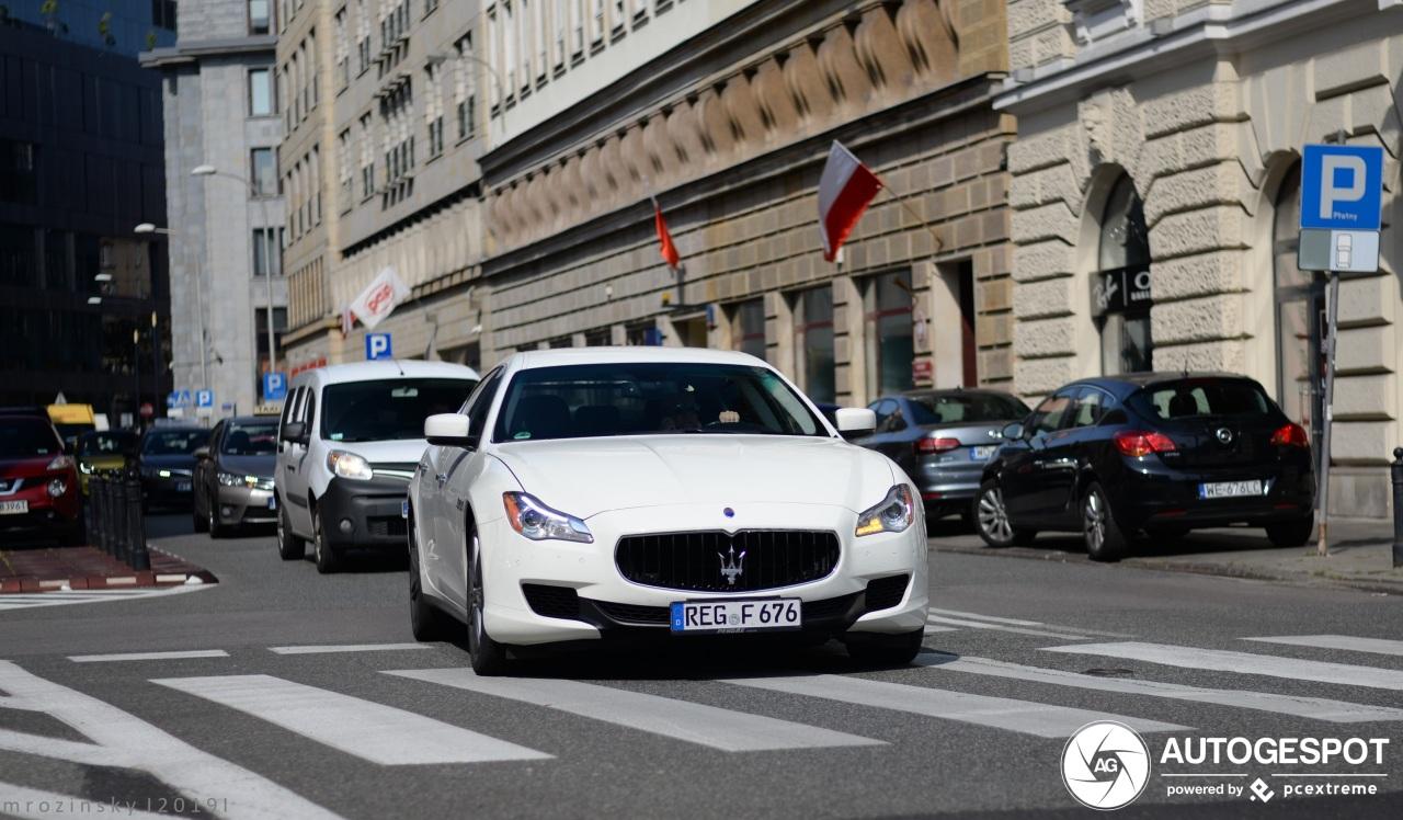 Maserati Quattroporte Diesel 2013 - 10 september 2019 ...