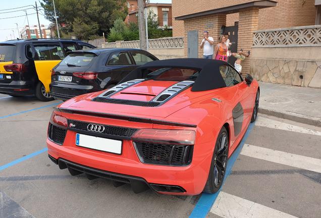 AudiR8 V10 Plus Spyder 2017