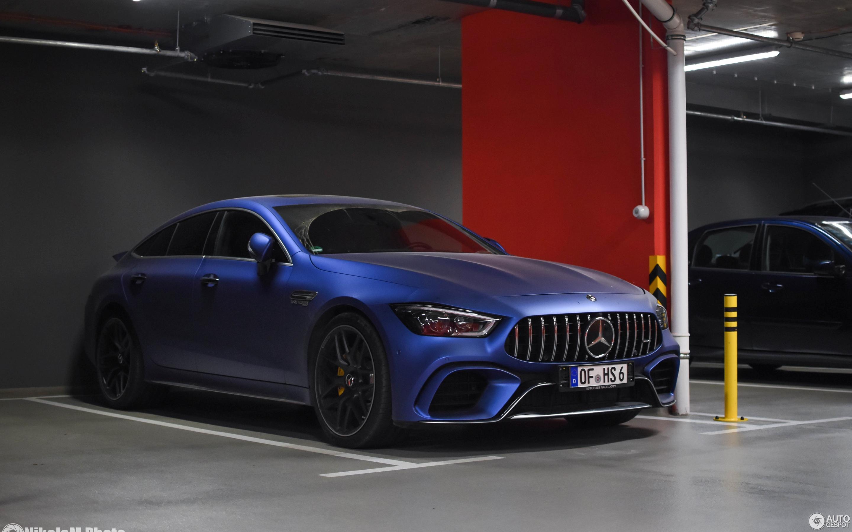 Mercedes gt 63 s amg 2019