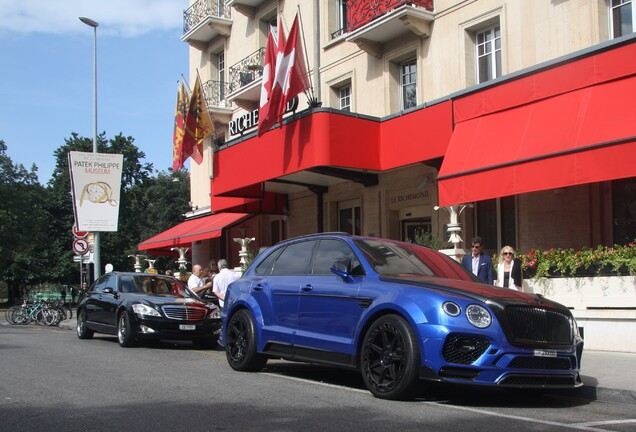 Bentley Mansory Bentayga Bleurion Collage