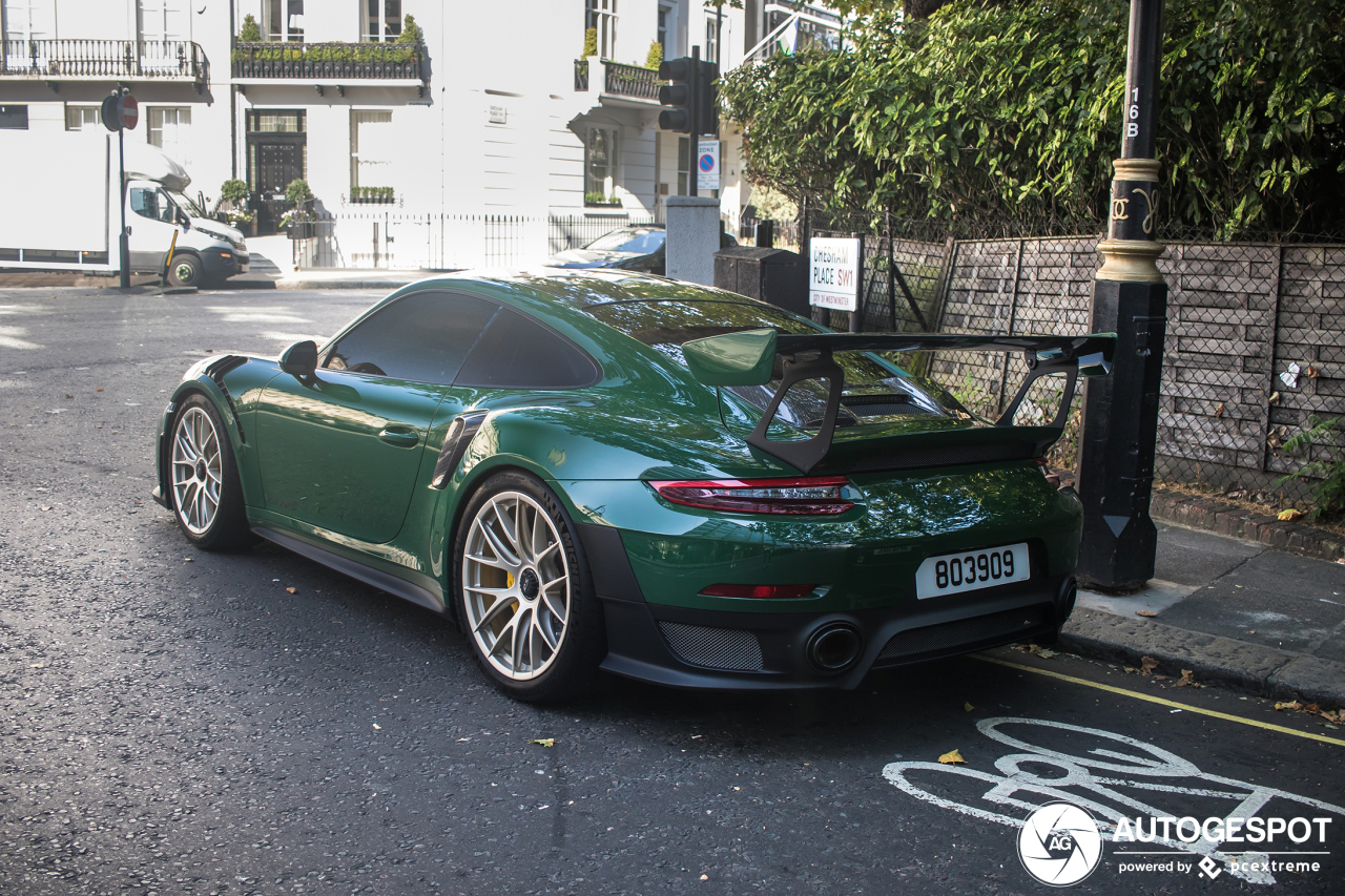 Porsche 991 Gt2 Rs Weissach Package 27 September 2019 Autogespot