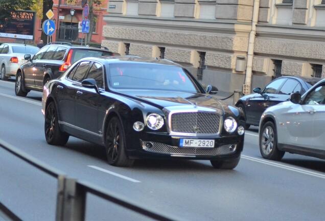 Bentley Mulsanne Speed Blue Train Edition
