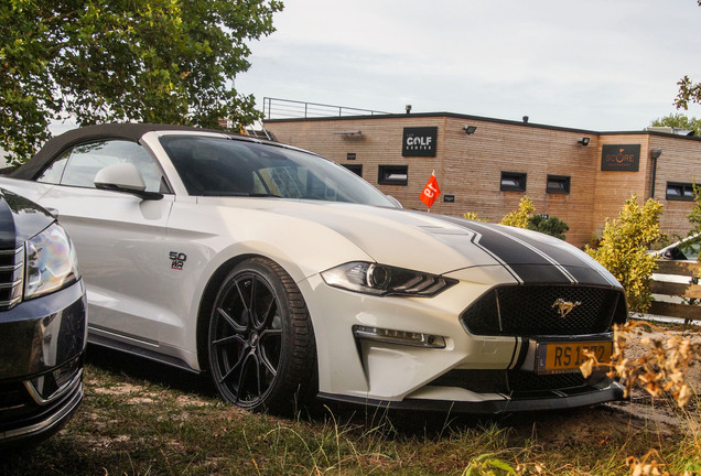 Ford Mustang GT Convertible 2018 Wengler Racing