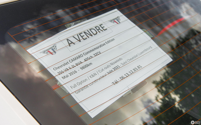 Chevrolet Camaro SS 2014 Commemorative Edition