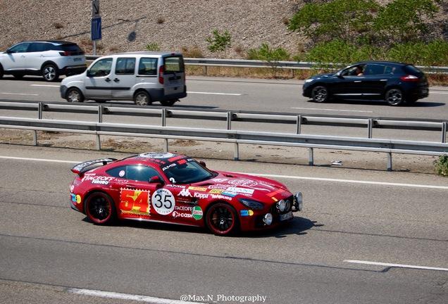 Mercedes-AMG GT R C190 Rote Sau