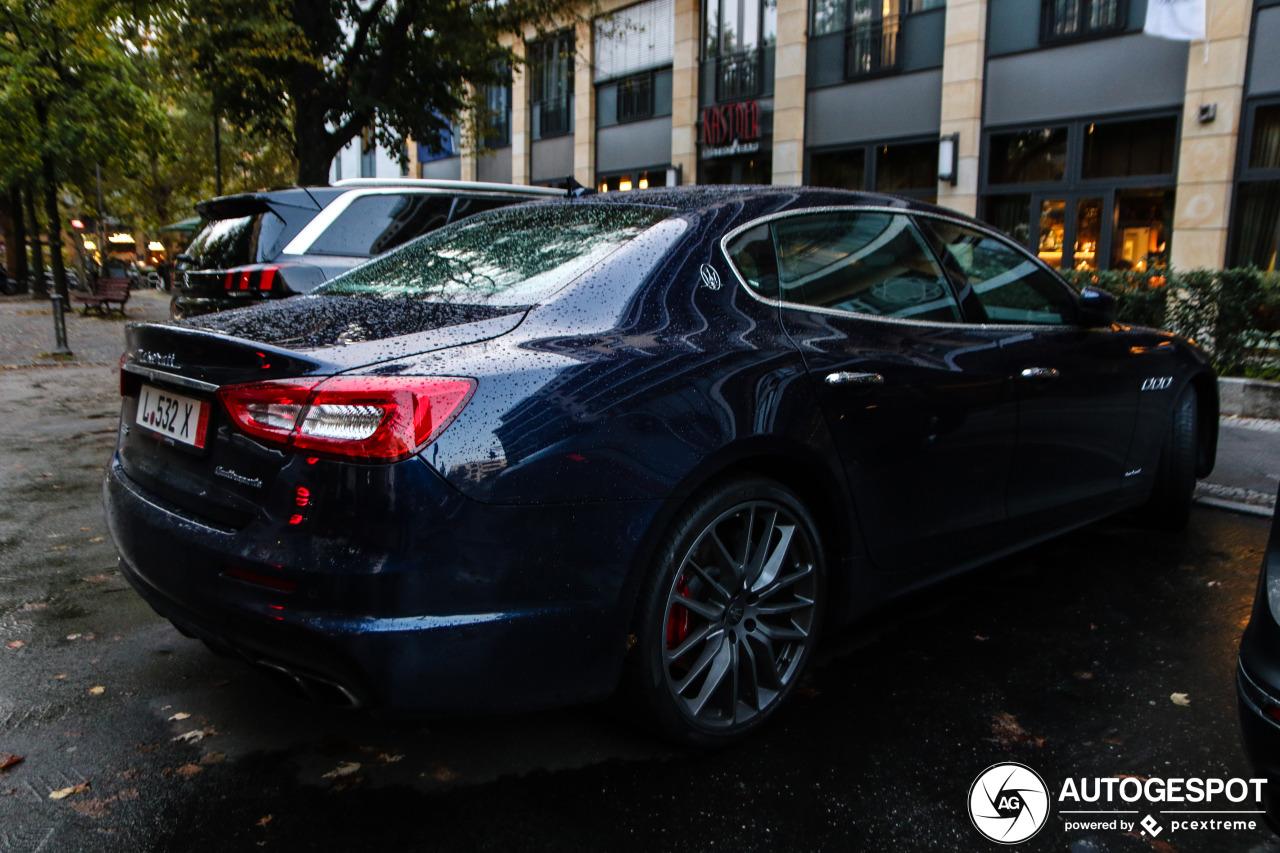 Maserati Quattroporte GTS GranSport - 5 October 2019 ...