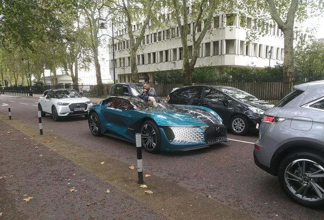 DS Automobiles X E-Tense Concept