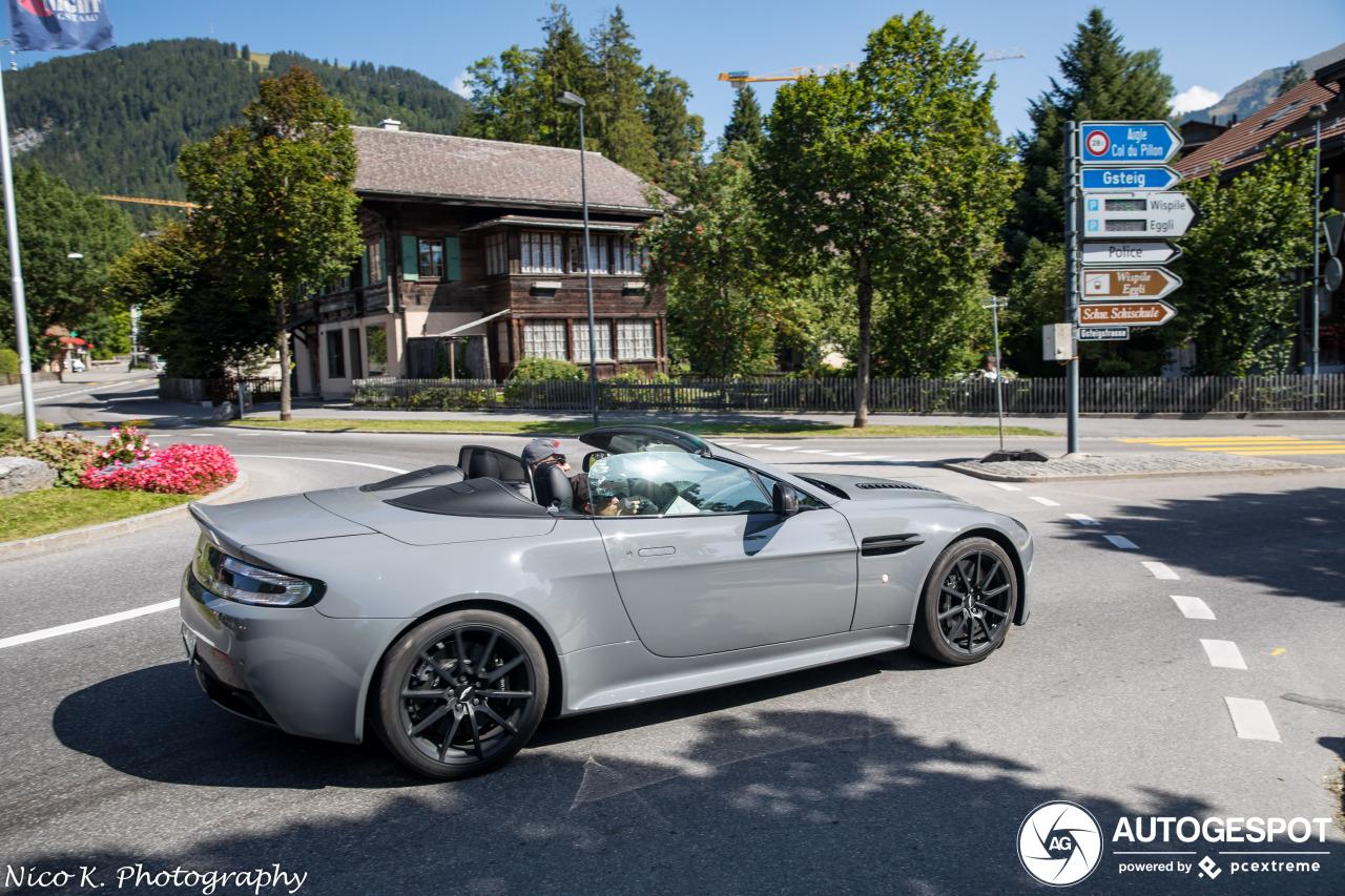 Aston Martin V12 Vantage S Roadster 9 October 2019 Autogespot