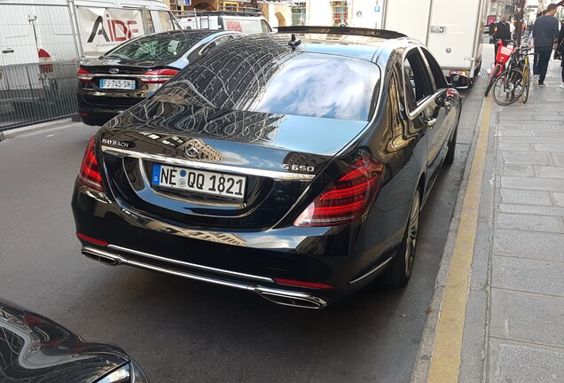 Mercedes-Maybach S 650 X222