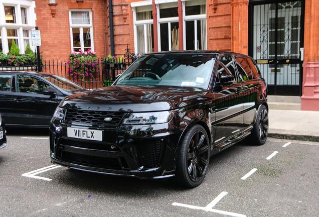Land Rover Revere Range Rover Sport SVR 2018