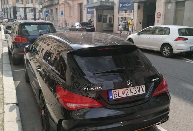 Mercedes-Benz CLA 45 AMG Shooting Brake OrangeArt Edition