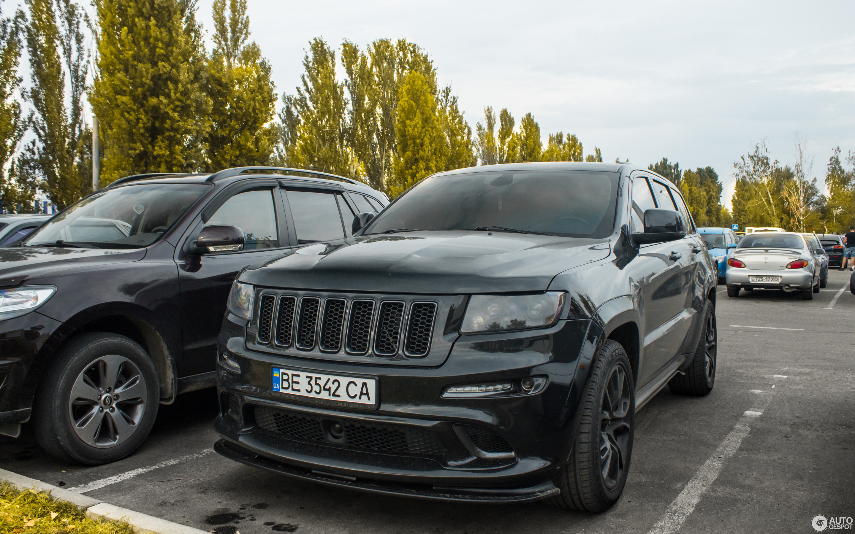 Jeep Grand Cherokee SRT-8 2012