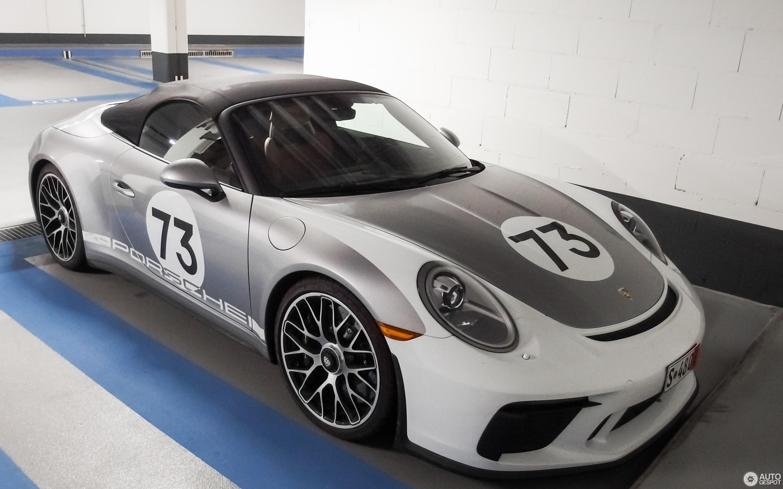 Porsche 991 Speedster Heritage Package