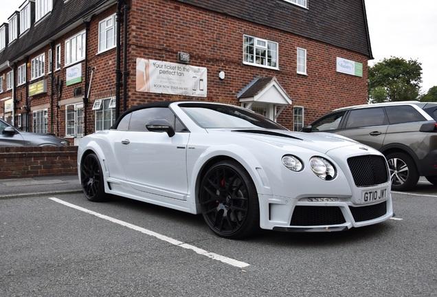 Bentley Continental GTC Speed 2012 Onyx Concept