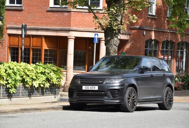 Land Rover Urban Range Rover Sport SVR