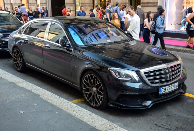 Mercedes-Maybach Brabus S 600 X222