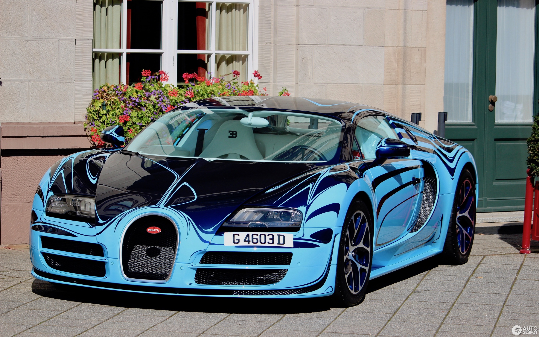 Bugatti Veyron 16.4 Super Sport Le Saphir Bleu