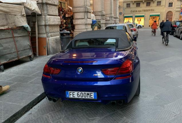 BMW M6 F12 Cabriolet 2015