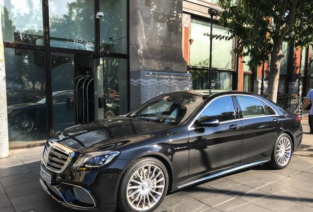 Mercedes-AMGS 65 V222 2017