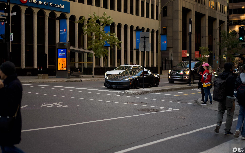 Chevrolet Corvette C7 Stingray Hennessey HPE700