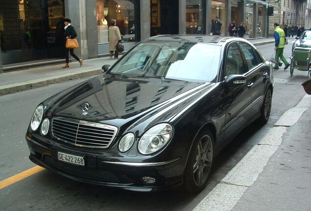 Mercedes-Benz E 55 AMG