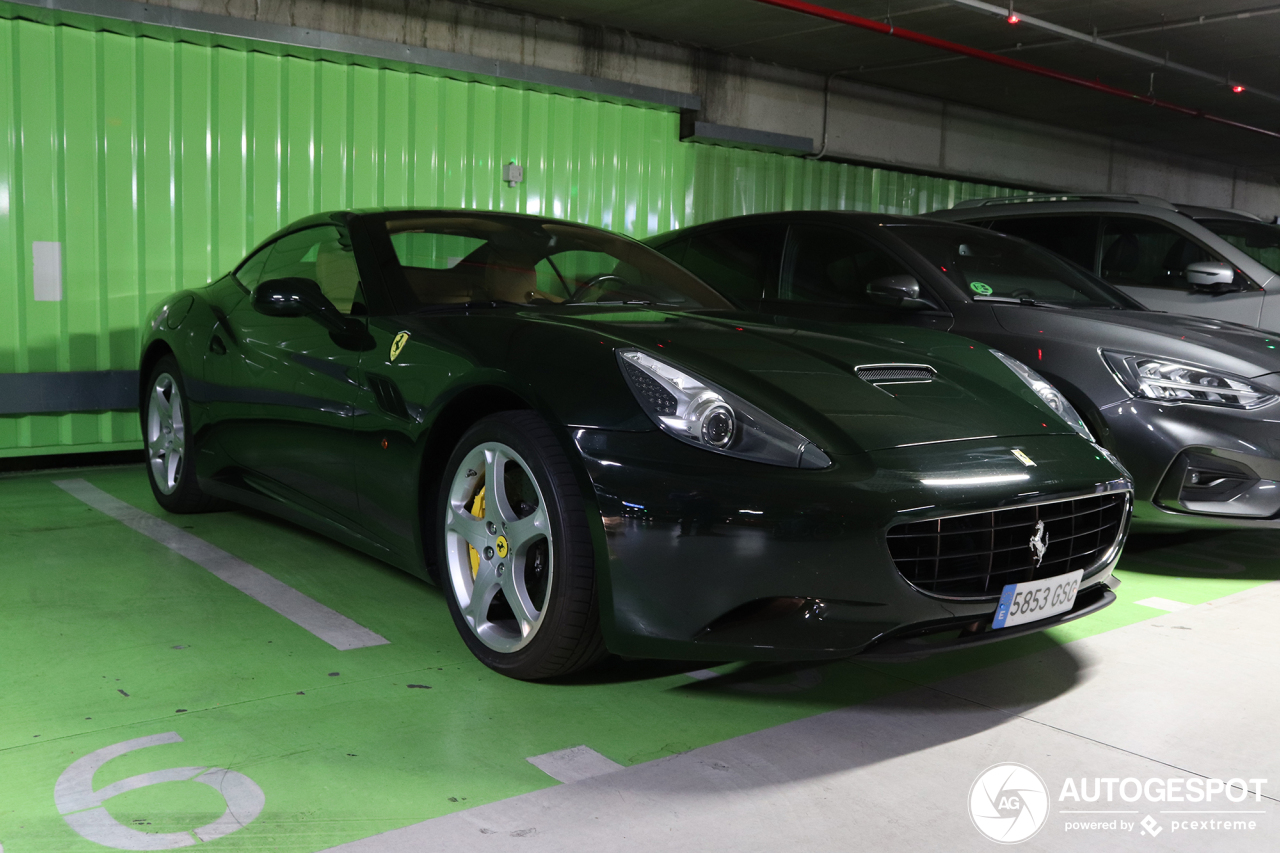Ferrari California - 26 October 2019 - Autogespot