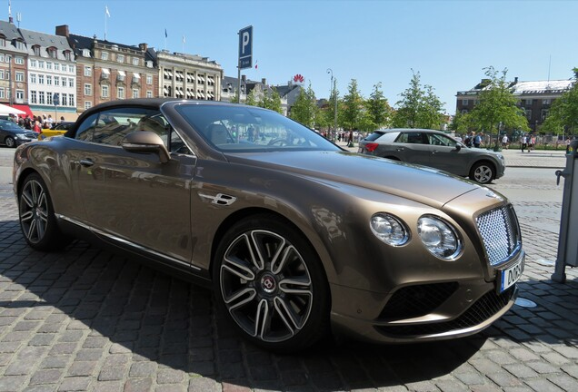 Bentley Continental GTC V8 2016