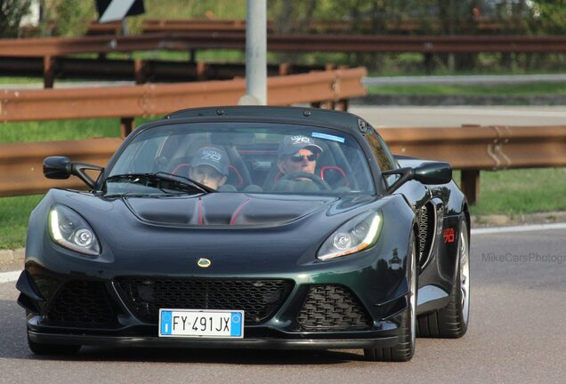 Lotus Exige 380 Sport 70th Anniversary
