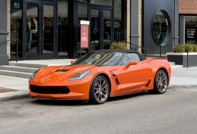 Chevrolet Corvette C7 Grand Sport Convertible