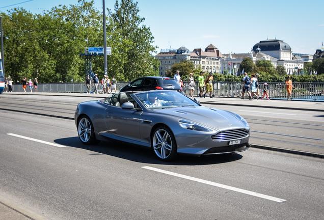 Aston Martin Virage Volante 2011