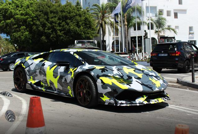 Lamborghini Huracán LP610-4 Vorsteiner Novara Edizione