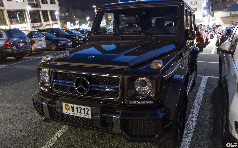 Mercedes-AMG G 63 2016