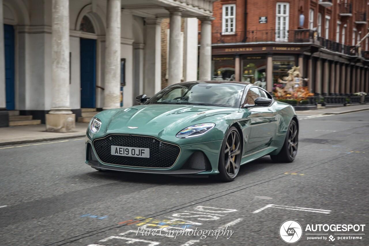 Aston Martin Dbs Superleggera 59 Le Mans 11 November 2019 Autogespot