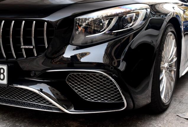 Mercedes-AMG S 65 Coupé C217 2018
