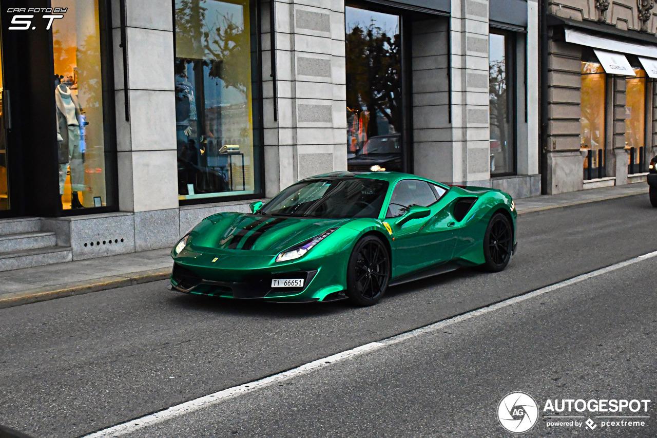 Ferrari 488 Pista kan elke kleur hebben